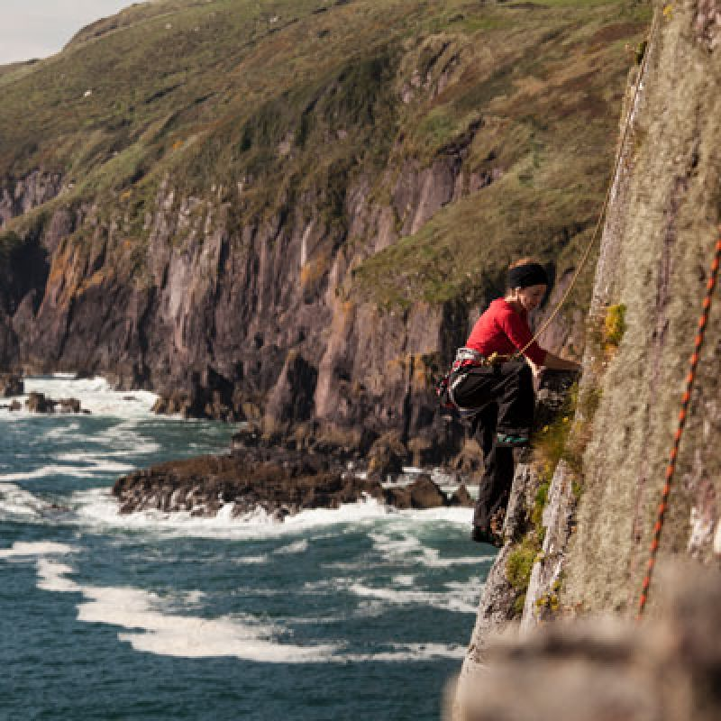 Climbing on the Dingle Peninsula